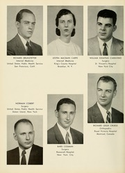 Page 14, 1955 Edition, Columbia University College of Physicians and Surgeons - P and S Yearbook (New York, NY) online yearbook collection