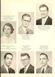Page 15, 1955 Edition, Columbia University College of Physicians and Surgeons - P and S Yearbook (New York, NY) online yearbook collection
