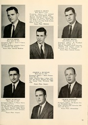Page 17, 1957 Edition, Columbia University College of Physicians and Surgeons - P and S Yearbook (New York, NY) online yearbook collection