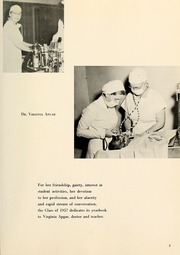 Page 9, 1957 Edition, Columbia University College of Physicians and Surgeons - P and S Yearbook (New York, NY) online yearbook collection