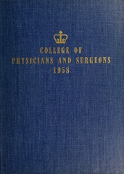Page 1, 1958 Edition, Columbia University College of Physicians and Surgeons - P and S Yearbook (New York, NY) online yearbook collection
