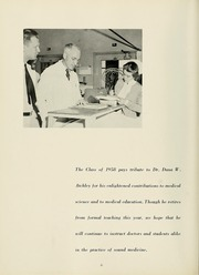 Page 10, 1958 Edition, Columbia University College of Physicians and Surgeons - P and S Yearbook (New York, NY) online yearbook collection