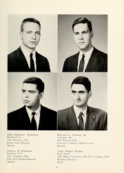 Page 13, 1958 Edition, Columbia University College of Physicians and Surgeons - P and S Yearbook (New York, NY) online yearbook collection