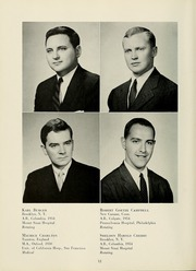 Page 16, 1958 Edition, Columbia University College of Physicians and Surgeons - P and S Yearbook (New York, NY) online yearbook collection