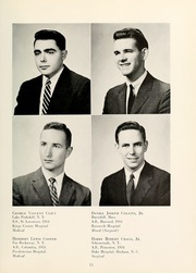 Page 17, 1958 Edition, Columbia University College of Physicians and Surgeons - P and S Yearbook (New York, NY) online yearbook collection