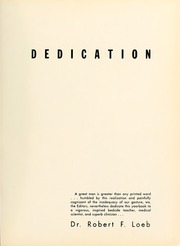 Page 7, 1959 Edition, Columbia University College of Physicians and Surgeons - P and S Yearbook (New York, NY) online yearbook collection