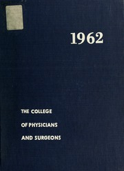 Page 1, 1962 Edition, Columbia University College of Physicians and Surgeons - P and S Yearbook (New York, NY) online yearbook collection