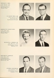Page 13, 1962 Edition, Columbia University College of Physicians and Surgeons - P and S Yearbook (New York, NY) online yearbook collection