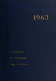 Columbia University College of Physicians and Surgeons - P and S Yearbook (New York, NY) online yearbook collection, 1963 Edition, Page 1
