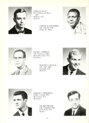 Page 16, 1964 Edition, Columbia University College of Physicians and Surgeons - P and S Yearbook (New York, NY) online yearbook collection