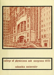 1976 Edition, Columbia University College of Physicians and Surgeons - P and S Yearbook (New York, NY)