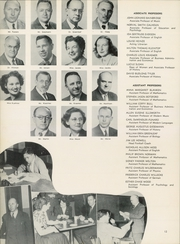 Page 16, 1949 Edition, Wagner College - Kallista Yearbook (New York, NY) online yearbook collection