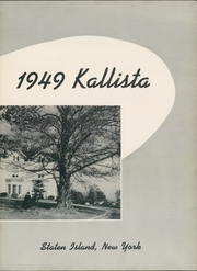Page 7, 1949 Edition, Wagner College - Kallista Yearbook (New York, NY) online yearbook collection