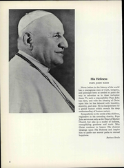 Page 14, 1962 Edition, Good Counsel College - Vestigia Yearbook (White Plains, NY) online yearbook collection