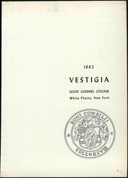 Page 9, 1962 Edition, Good Counsel College - Vestigia Yearbook (White Plains, NY) online yearbook collection