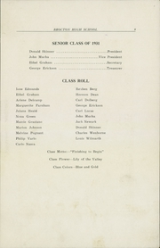 Page 11, 1931 Edition, Brocton High School - La Liberte Yearbook (Brocton, NY) online yearbook collection