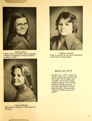 Page 15, 1976 Edition, Immaculata Academy - Reflections Yearbook (Hamburg, NY) online yearbook collection
