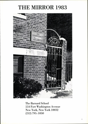 Page 5, 1983 Edition, Barnard School - Mirror Yearbook (New York, NY) online yearbook collection