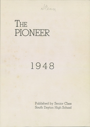 Page 3, 1948 Edition, South Dayton High School - Pioneer Yearbook (South Dayton, NY) online yearbook collection