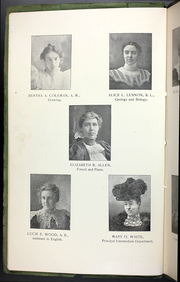 Page 10, 1899 Edition, College at Brockport - Saga Yearbook (Brockport, NY) online yearbook collection