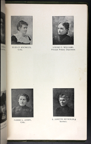 Page 11, 1899 Edition, College at Brockport - Saga Yearbook (Brockport, NY) online yearbook collection