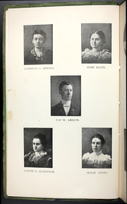 Page 12, 1899 Edition, College at Brockport - Saga Yearbook (Brockport, NY) online yearbook collection