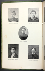 Page 14, 1899 Edition, College at Brockport - Saga Yearbook (Brockport, NY) online yearbook collection