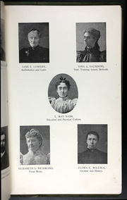 Page 9, 1899 Edition, College at Brockport - Saga Yearbook (Brockport, NY) online yearbook collection
