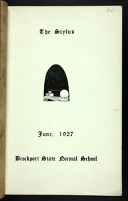 Page 5, 1927 Edition, College at Brockport - Saga Yearbook (Brockport, NY) online yearbook collection