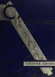 1936 Edition, Cooper Union College - Cable Yearbook (New York, NY)