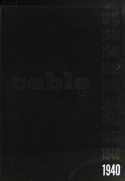 1940 Edition, Cooper Union College - Cable Yearbook (New York, NY)