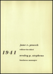 Page 7, 1941 Edition, Cooper Union College - Cable Yearbook (New York, NY) online yearbook collection