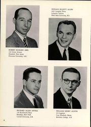 Page 12, 1956 Edition, Cornell Medical College - Samaritan Yearbook (New York, NY) online yearbook collection