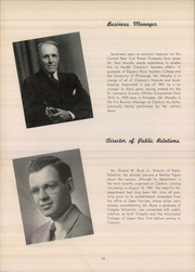 Page 10, 1948 Edition, Clarkson University - Clarksonian Yearbook (Potsdam, NY) online yearbook collection