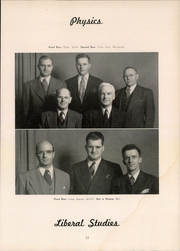 Page 15, 1948 Edition, Clarkson University - Clarksonian Yearbook (Potsdam, NY) online yearbook collection