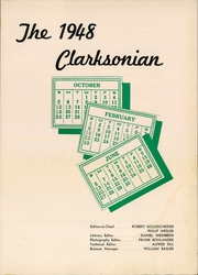 Page 3, 1948 Edition, Clarkson University - Clarksonian Yearbook (Potsdam, NY) online yearbook collection