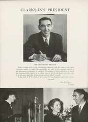 Page 12, 1949 Edition, Clarkson University - Clarksonian Yearbook (Potsdam, NY) online yearbook collection