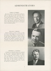 Page 13, 1949 Edition, Clarkson University - Clarksonian Yearbook (Potsdam, NY) online yearbook collection