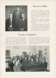 Page 15, 1949 Edition, Clarkson University - Clarksonian Yearbook (Potsdam, NY) online yearbook collection