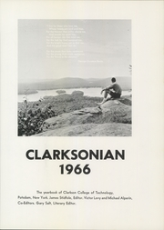 Page 5, 1966 Edition, Clarkson University - Clarksonian Yearbook (Potsdam, NY) online yearbook collection