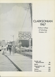 Page 5, 1967 Edition, Clarkson University - Clarksonian Yearbook (Potsdam, NY) online yearbook collection
