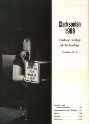Page 5, 1968 Edition, Clarkson University - Clarksonian Yearbook (Potsdam, NY) online yearbook collection