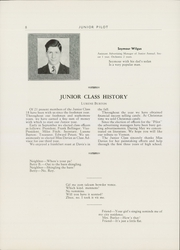 Page 10, 1940 Edition, Vernon High School - Junior Annual Yearbook (Vernon, NY) online yearbook collection