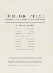 Page 3, 1940 Edition, Vernon High School - Junior Annual Yearbook (Vernon, NY) online yearbook collection