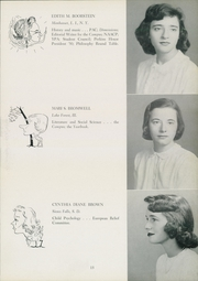 Page 17, 1950 Edition, Sarah Lawrence College - Yearbook (Bronxville, NY) online yearbook collection