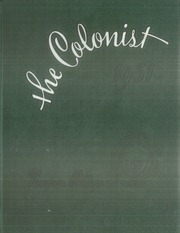 Page 1, 1951 Edition, Binghamton University - Colonist Yearbook (Vestal, NY) online yearbook collection