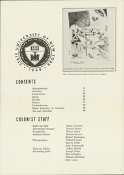 Page 11, 1955 Edition, Binghamton University - Colonist Yearbook (Vestal, NY) online yearbook collection