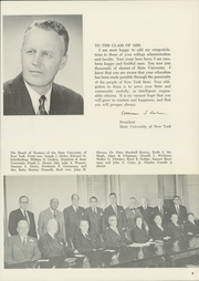 Page 13, 1955 Edition, Binghamton University - Colonist Yearbook (Vestal, NY) online yearbook collection