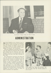 Page 15, 1955 Edition, Binghamton University - Colonist Yearbook (Vestal, NY) online yearbook collection