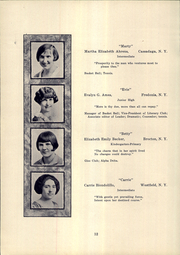 Page 14, 1925 Edition, SUNY at Fredonia - Fredonian Yearbook (Fredonia, NY) online yearbook collection